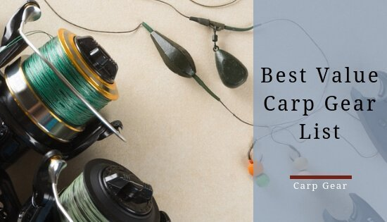 recommended carp gear