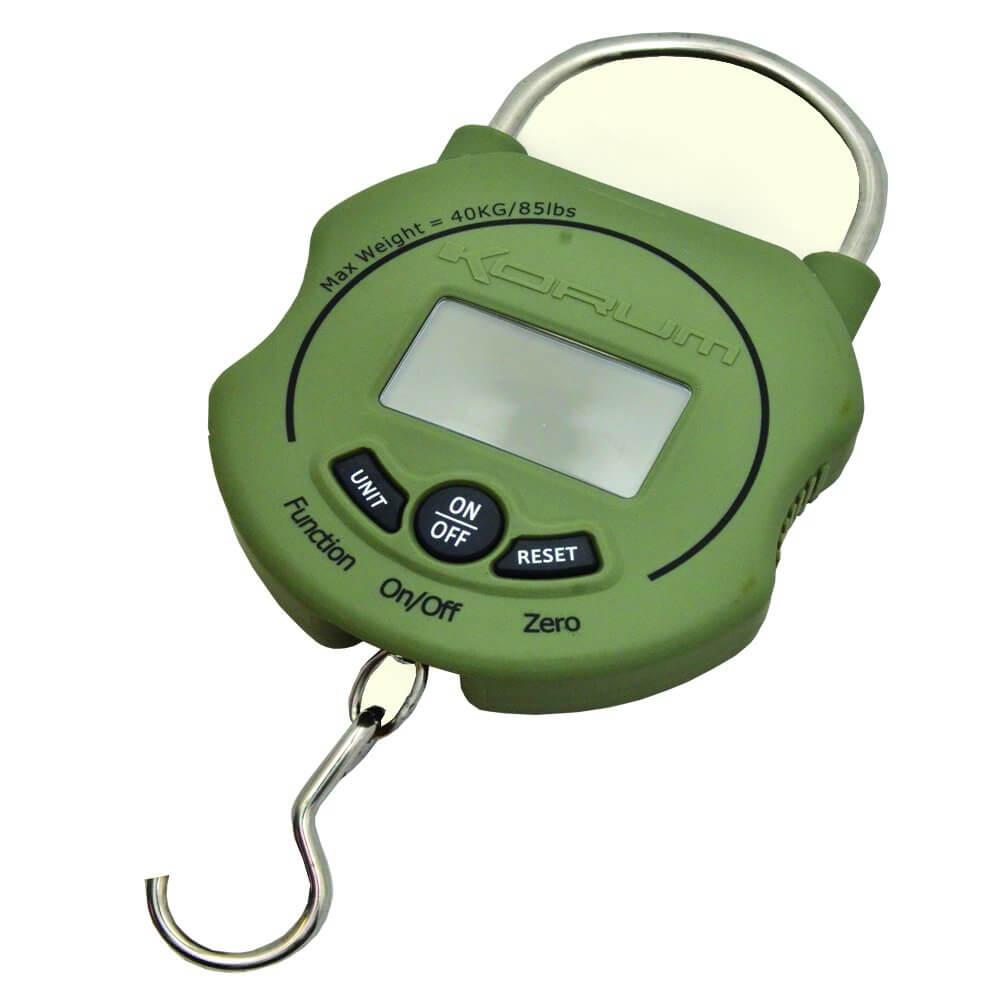 Korum digital scales